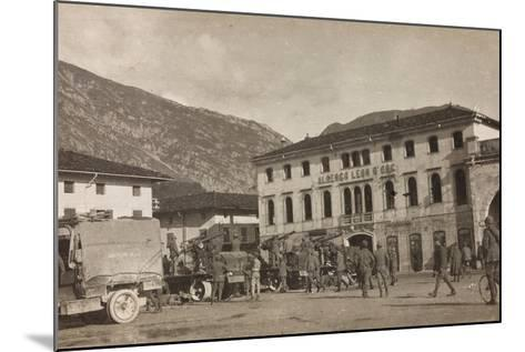 Free State of Verhovac-July 1916: Anti-Aircraft Forces Soldiers in Maniago--Mounted Photographic Print