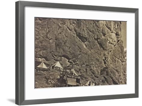 World War I: Encampment Alpine--Framed Art Print