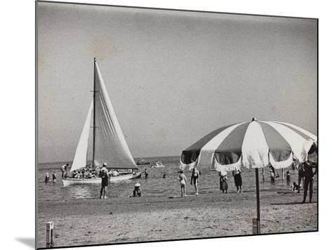 Viaggi Italadria- Rimini: Rimini-Riccione-Cattolica, the Beach--Mounted Photographic Print