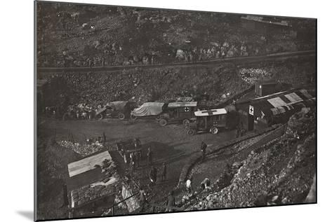 First World War: Field Hospital and Military Health Care in the Valley of Santa Barbara--Mounted Photographic Print