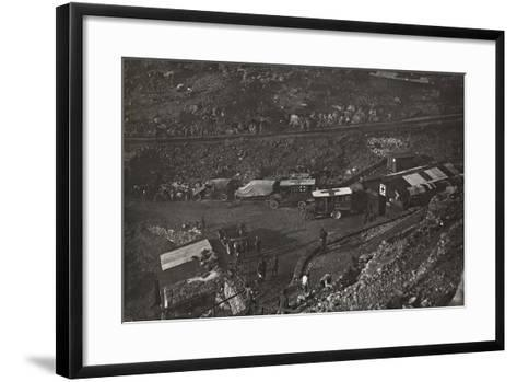 First World War: Field Hospital and Military Health Care in the Valley of Santa Barbara--Framed Art Print