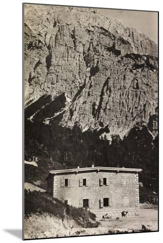 Free State of Verhovac-July 1916: Military Shelter on Mount Vualt--Mounted Photographic Print