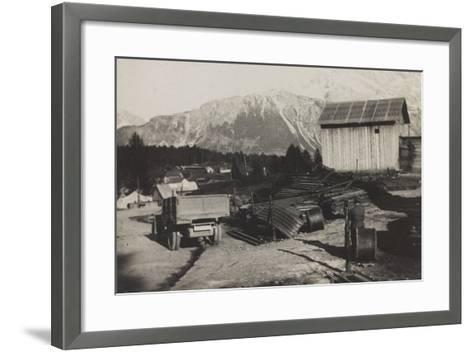 World War I: Storehouse of the Genius in Pocol--Framed Art Print