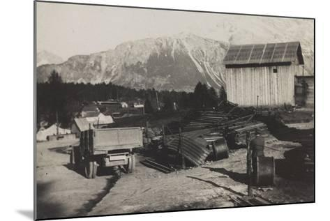World War I: Storehouse of the Genius in Pocol--Mounted Photographic Print