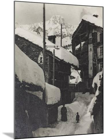Country in the Snow--Mounted Photographic Print