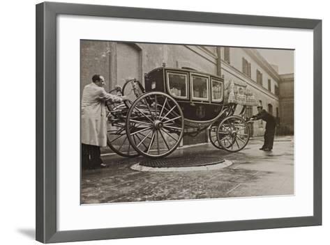 The Sedan Gala Golden of Vittorio Emanuele Ii, Built in 1878-Luigi Leoni-Framed Art Print