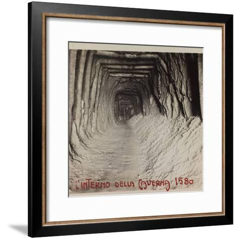 Free State of Verhovac-July 1916: Entrance to the Cave (Cave in 1580)--Framed Art Print