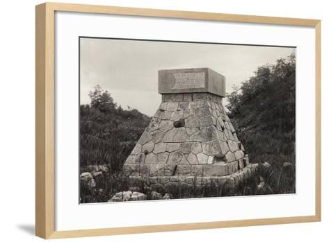 Hungarian Monument to the Fallen, San Martino Del Carso--Framed Art Print