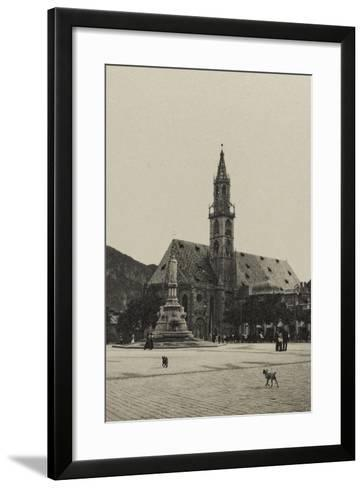 Visions of War 1915-1918: View of the City at the End of the First World War-Vincenzo Aragozzini-Framed Art Print