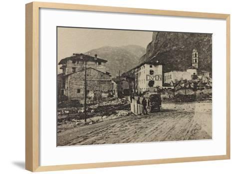 Visions of War 1915-1918: Military Encampments Cismon Del Grappa-Vincenzo Aragozzini-Framed Art Print