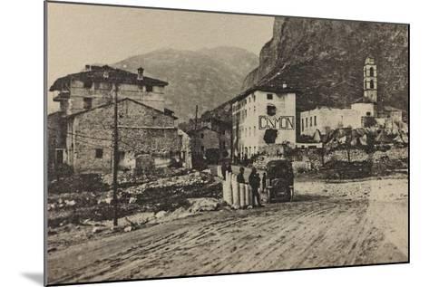 Visions of War 1915-1918: Military Encampments Cismon Del Grappa-Vincenzo Aragozzini-Mounted Photographic Print