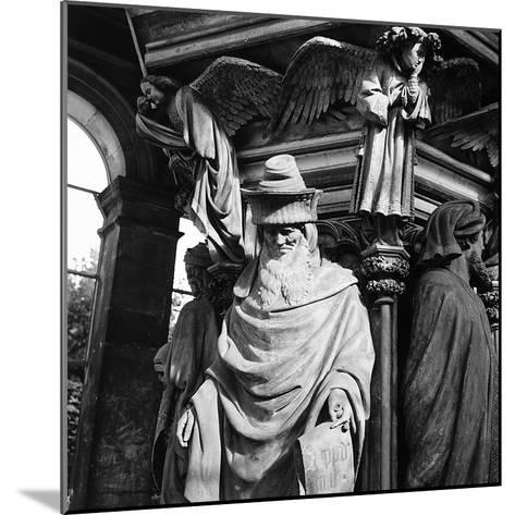 Statue of Moses, for the Well of Moses, Located in the Cloister of the Charterhouse of Champmol-Pietro Ronchetti-Mounted Photographic Print