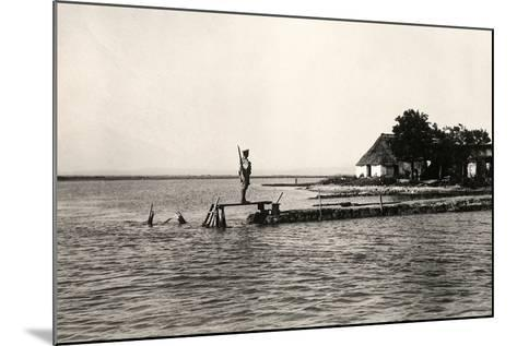 Point Sdobba at the Mouth of the Isonzo River Near the Lagoon of Grado-Ugo Ojetti-Mounted Photographic Print