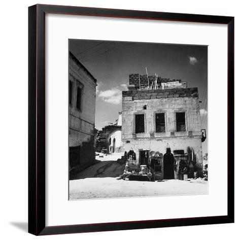 An Antique Store Along the Streets of Velisar in Turkey-Pietro Ronchetti-Framed Art Print