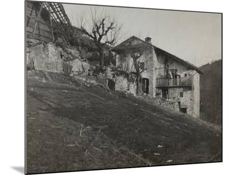 Captain's Quarters to Rog During the First World War-Luigi Verdi-Mounted Photographic Print