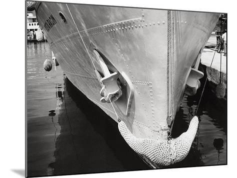 Prow of a Ship-Dusan Stanimirovitch-Mounted Photographic Print
