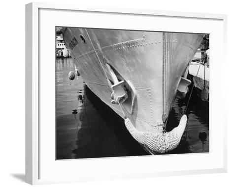 Prow of a Ship-Dusan Stanimirovitch-Framed Art Print