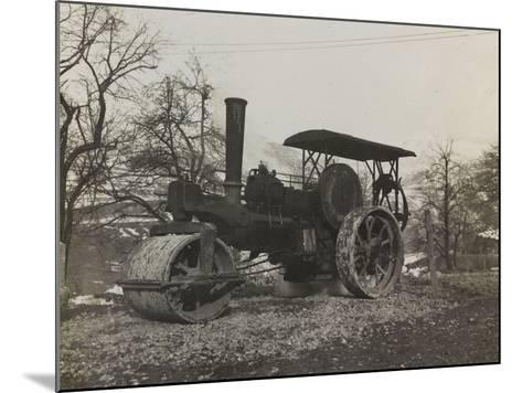 Compressor of the Italian Army During the First World War-Luigi Verdi-Mounted Photographic Print