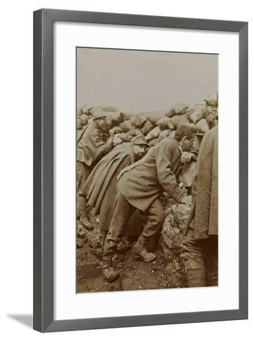 Campagna Di Guerra 1915-1916-1917-1918: Trenches in Santo Stefano--Framed Art Print