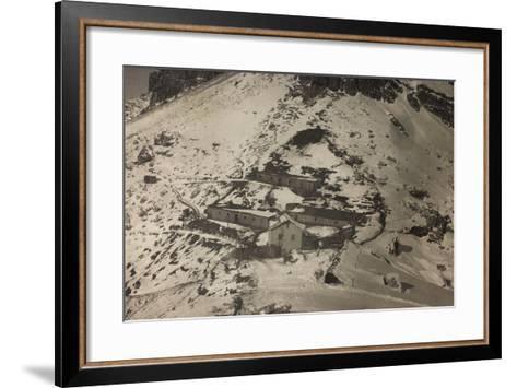 World War I: Forcella Nuvolao (Nuvolau)--Framed Art Print