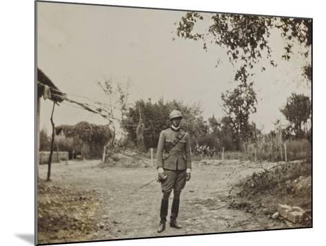 Campagna Di Guerra 1915-1916-1917-1918: Portrait of Jack Bosio in Santo Stefano--Mounted Photographic Print