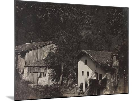 Free State of Verhovac-July 1916: Houses in Ghialloz--Mounted Photographic Print
