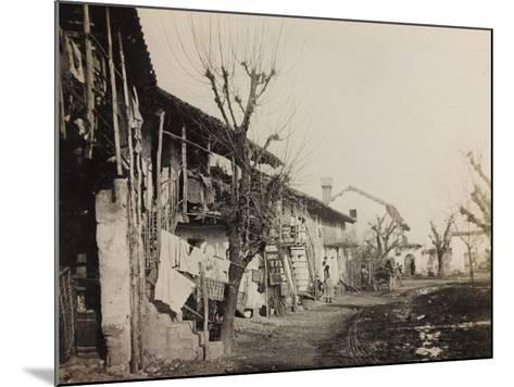 WWI: View of the City of Medeuzza--Mounted Photographic Print