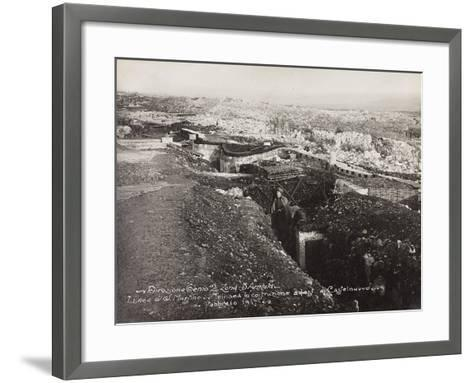 Leadership Corps of Engineers 2nd Area 3rd Army, Trench--Framed Art Print