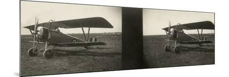 Italian Army Seaplane During the First World War, Newport--Mounted Photographic Print