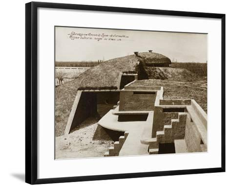 Leadership Corps of Engineers 2nd Area 3rd Army, Observatory Military in a War Zone--Framed Art Print