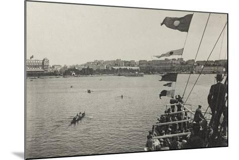 Visions of War 1915-1918: While a Ship Reaches Port Pula-Vincenzo Aragozzini-Mounted Photographic Print