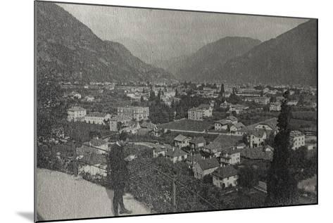 Visions of War 1915-1918: View of Trento at the End of the First World War-Vincenzo Aragozzini-Mounted Photographic Print