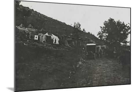 First World War: the Military Field Hospital Admissions and the Karst--Mounted Photographic Print