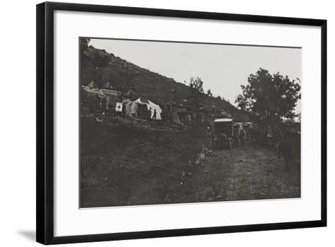 First World War: the Military Field Hospital Admissions and the Karst--Framed Art Print