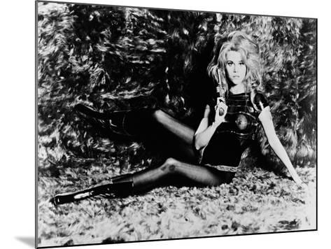 Barbarella, 1968--Mounted Photographic Print