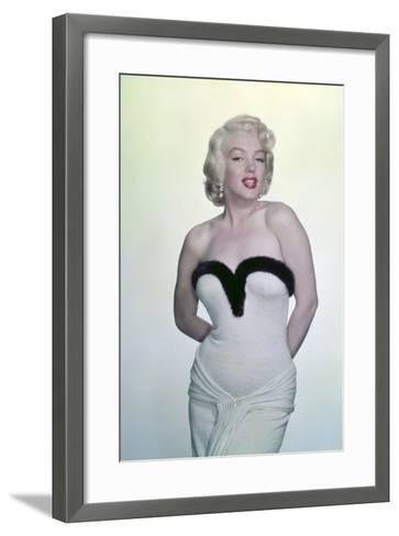 Marilyn Monroe--Framed Art Print
