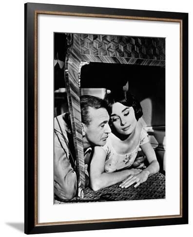 Love in the Afternoon, 1957--Framed Art Print