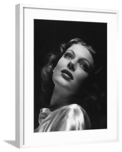 Loretta Young, 1941--Framed Art Print
