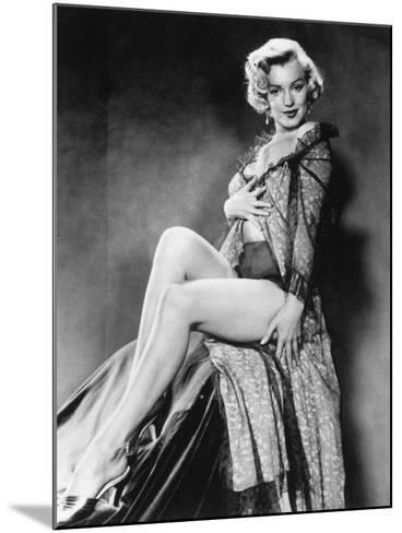 Marilyn Monroe--Mounted Photographic Print