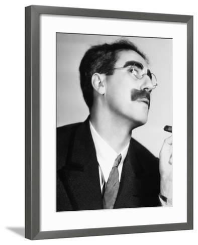 Groucho Marx--Framed Art Print
