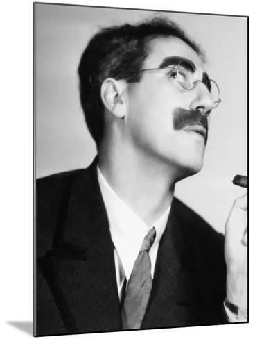 Groucho Marx--Mounted Photographic Print