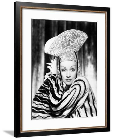 Marlene Dietrich--Framed Art Print