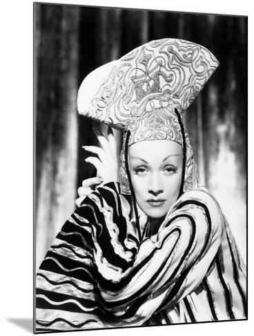 Marlene Dietrich--Mounted Photographic Print