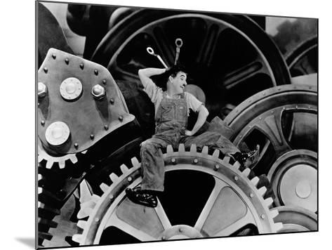 Modern Times, 1936--Mounted Photographic Print