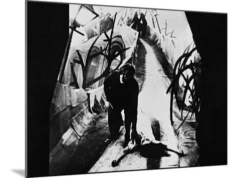 The Cabinet of Dr. Caligari, 1920--Mounted Photographic Print