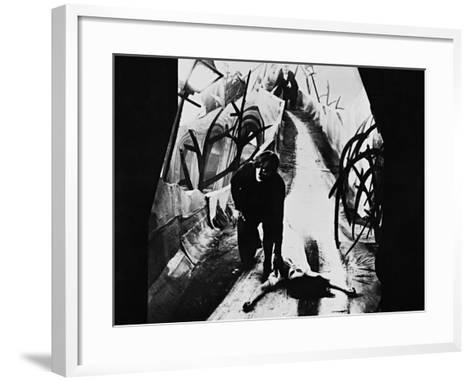 The Cabinet of Dr. Caligari, 1920--Framed Art Print