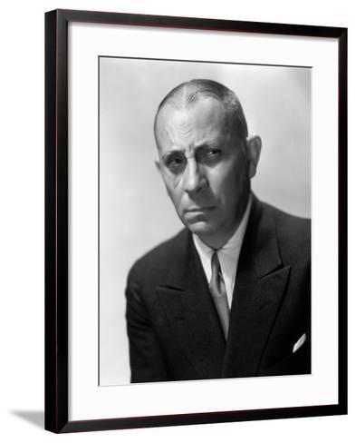 Erich Von Stroheim, 1931--Framed Art Print