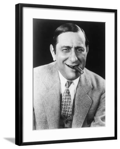 Ernst Lubitsch--Framed Art Print