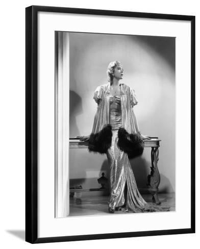 Ida Lupino--Framed Art Print