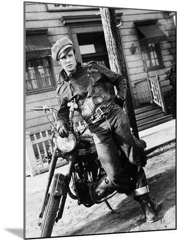 The Wild One, 1953--Mounted Photographic Print